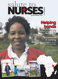 Diane Hughes, Jocelyn Macharia, Salute to Nurses, Kenya