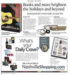 Diane Hughes, holiday, gifts, tennessean