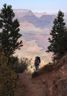 Diane Hughes, Grand Canyon, backpacking, dianewordsmith